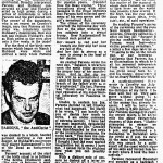 London Sunday Times 5 Oct 1969 Revealed for the first time...the odd beginnings of Ron Hubbard's career (p.2)