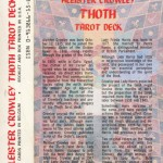 About Thoth Tarot Deck (2)