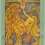 XI Lust. Thoth Deck