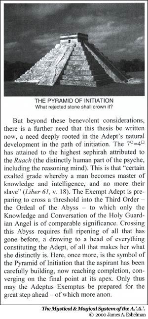 The Mystical & Magical System of the A.'.A.'. © 2000 James A. Eshelman
